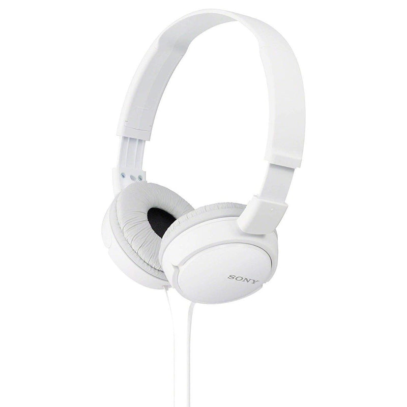 Sony MDRZX110 Stereo Headphones - Assorted Colors Headphones & Speakers White - DailySale