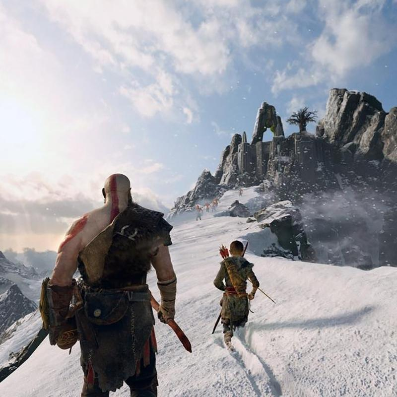 Sony PS4 God of War Game Toys & Games - DailySale
