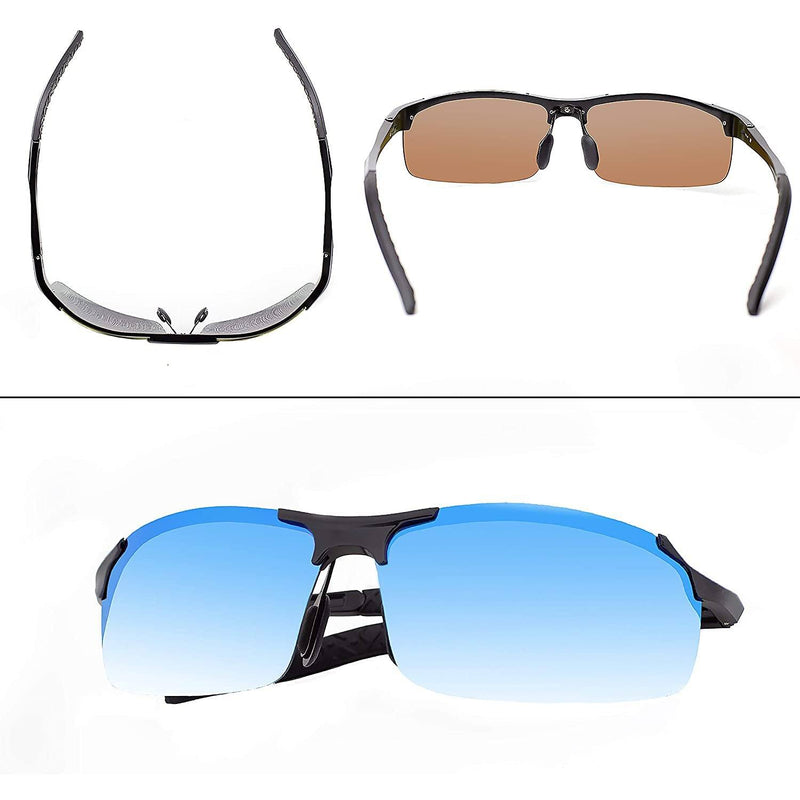 Sports Polarized Sunglasses for Men Men's Apparel - DailySale