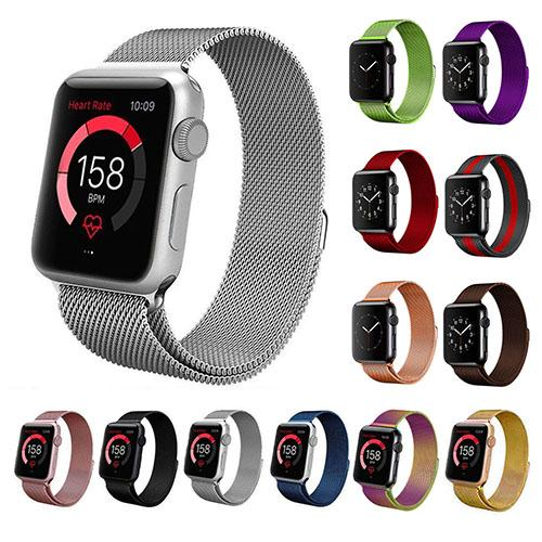 Stainless Steel Milanese Loop Band Replacement for Apple Watches Smart Watches - DailySale