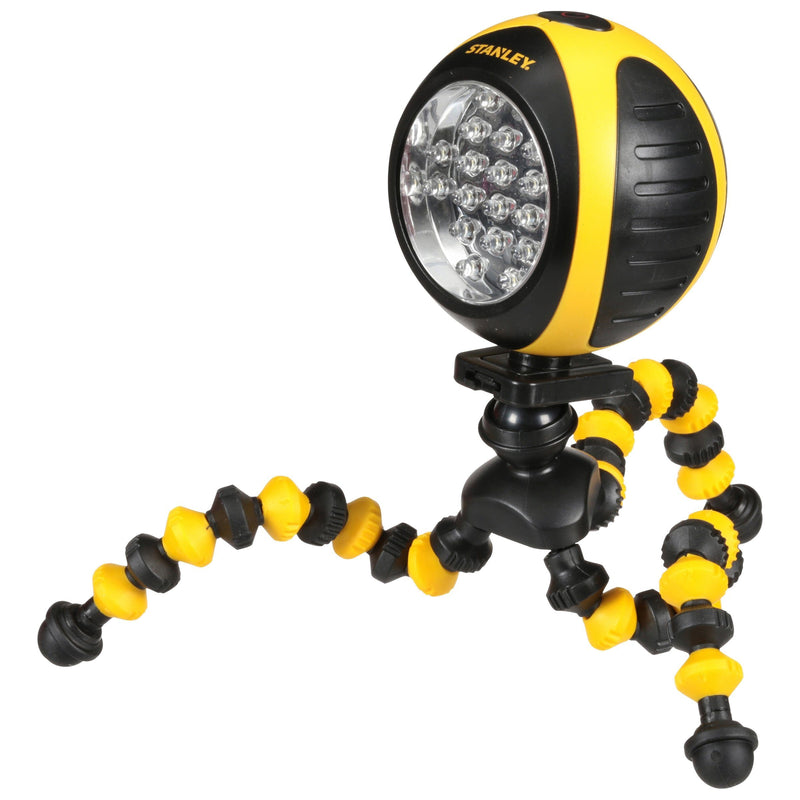 STANLEY SquidBrite Alkaline LED Work Light Lighting & Decor - DailySale
