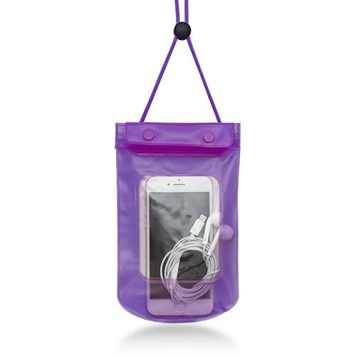 Stay Dry and Clean Phone Pouch Sports & Outdoors Purple - DailySale