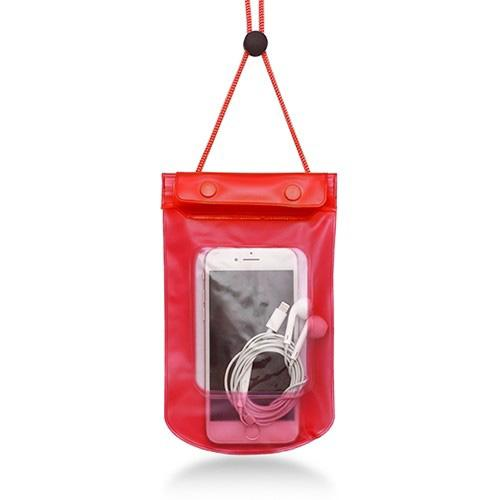 Stay Dry and Clean Phone Pouch Sports & Outdoors Red - DailySale
