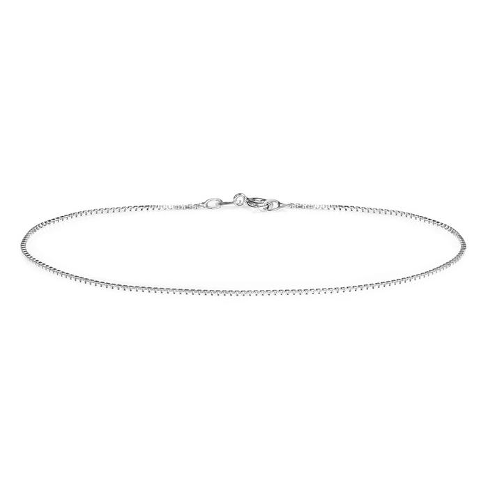 Sterling Silver Italian Made Anklets Bracelets Box - DailySale