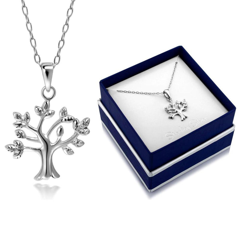 Sterling Silver Tree of Life Necklace by Paolo Fortelini Jewelry - DailySale