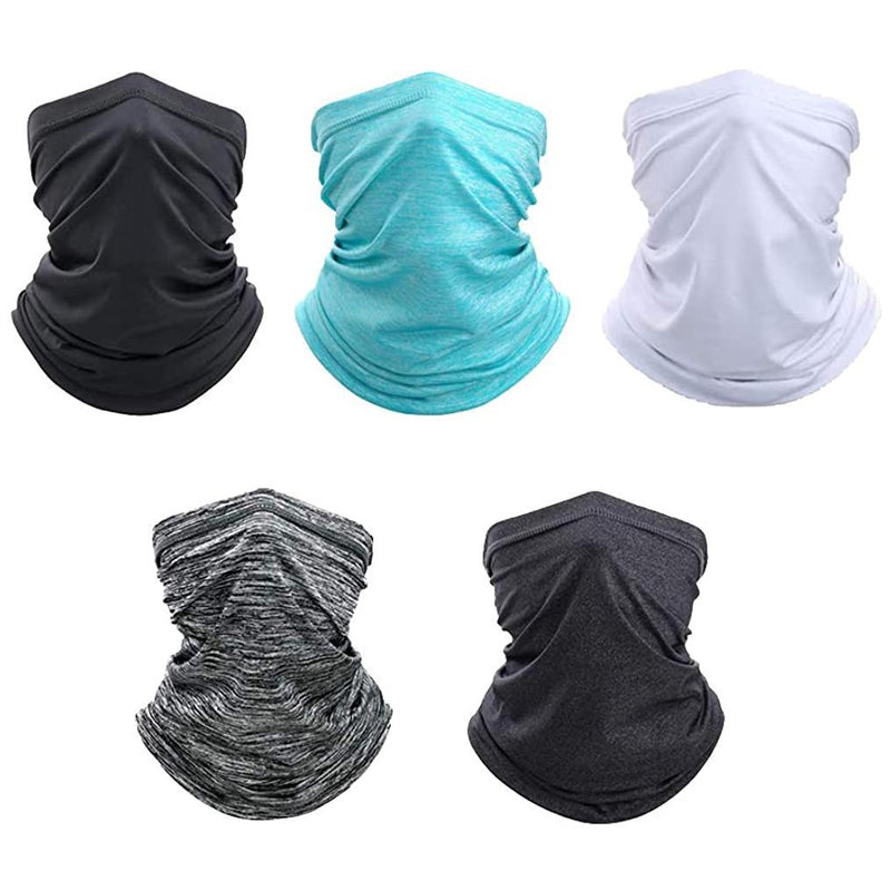 Sun Protection Cool Lightweight Neck Gaiter Face Scarf Sports & Outdoors - DailySale