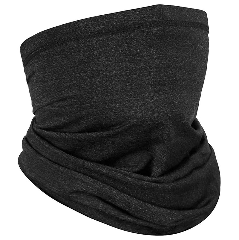 Sun Protection Cool Lightweight Neck Gaiter Face Scarf Sports & Outdoors Dark Gray - DailySale