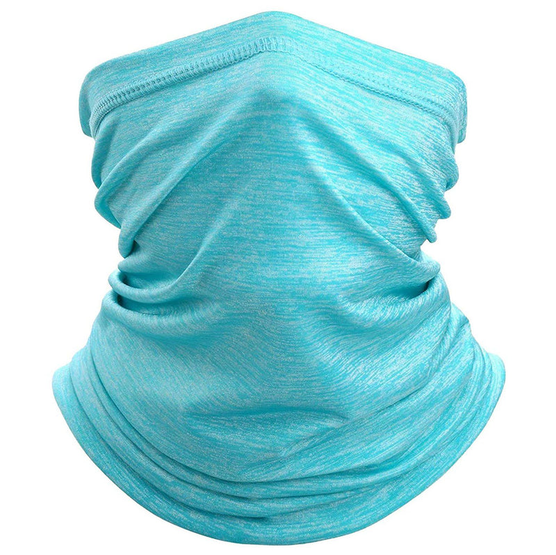 Sun Protection Cool Lightweight Neck Gaiter Face Scarf Sports & Outdoors Light Blue - DailySale