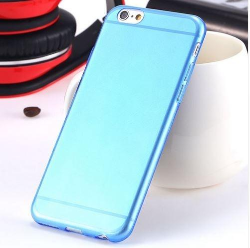 Super Flexible Clear TPU Case For iPhone 6/6s or iPhone 6/6s Plus Phones & Accessories Blue iPhone 6 - DailySale