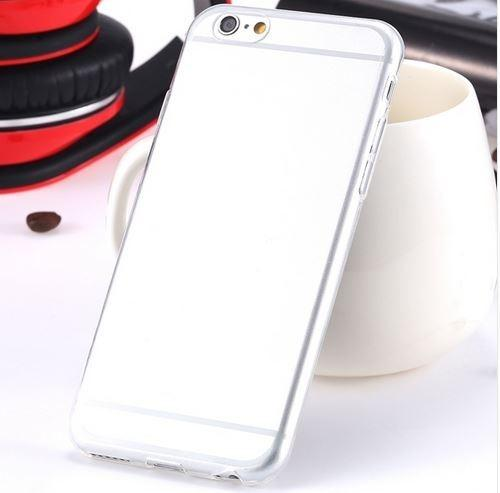 Super Flexible Clear TPU Case For iPhone 6/6s or iPhone 6/6s Plus Phones & Accessories - DailySale