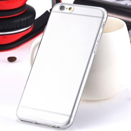 Super Flexible Clear TPU Case For iPhone 6/6s or iPhone 6/6s Plus Phones & Accessories Gray iPhone 6 - DailySale