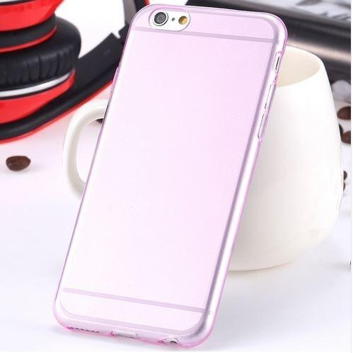 Super Flexible Clear TPU Case For iPhone 6/6s or iPhone 6/6s Plus Phones & Accessories Pink iPhone 6 - DailySale