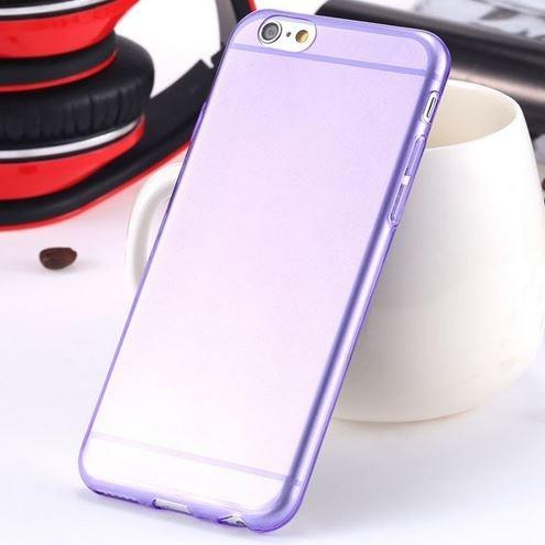 Super Flexible Clear TPU Case For iPhone 6/6s or iPhone 6/6s Plus Phones & Accessories Purple iPhone 6 - DailySale