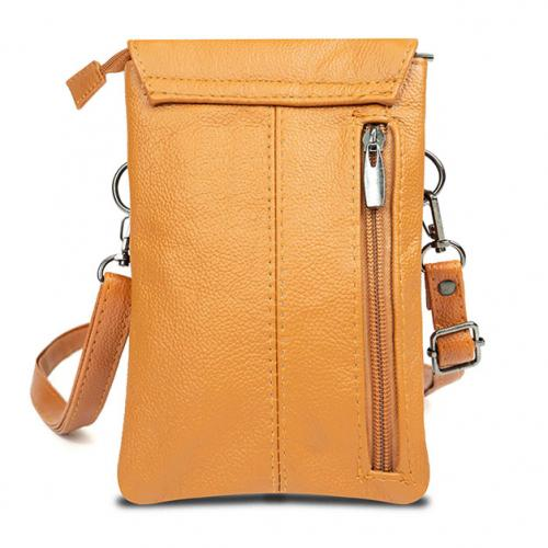 Super Soft Genuine Leather Crossbody Wallet