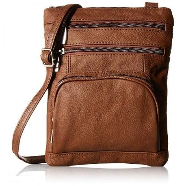 Super Soft Leather-Crossbody Bag Handbags & Wallets Brown - DailySale