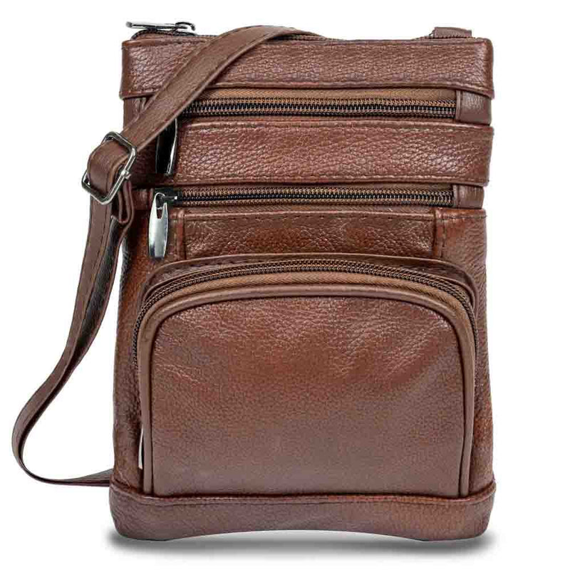 Super Soft Leather-Crossbody Bag Handbags & Wallets - DailySale