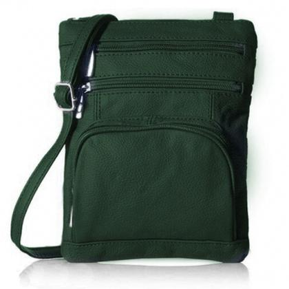Super Soft Leather-Crossbody Bag Handbags & Wallets Green - DailySale