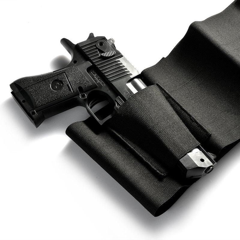 Tactical Elastic Belly Band Waist Pistol Gun Holster Sports & Outdoors - DailySale