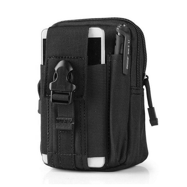 Tactical Waist Bag Tactical Black - DailySale