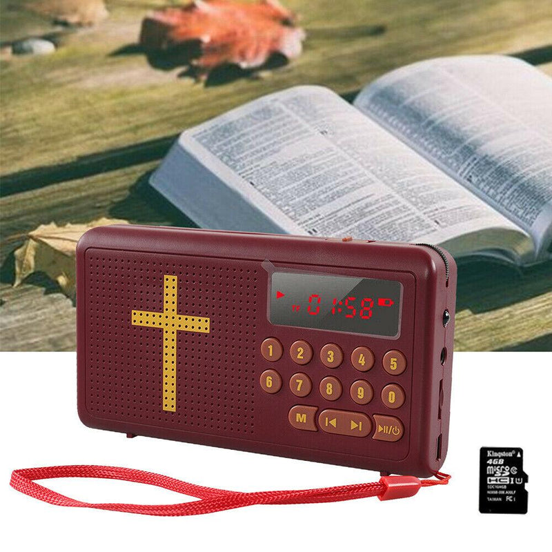 Talking Bible Audio Bible Player Speakers - DailySale