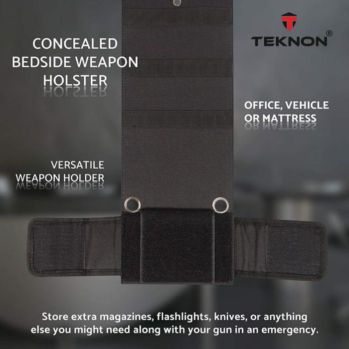 Teknon Bedside Gun Holster Tactical - DailySale