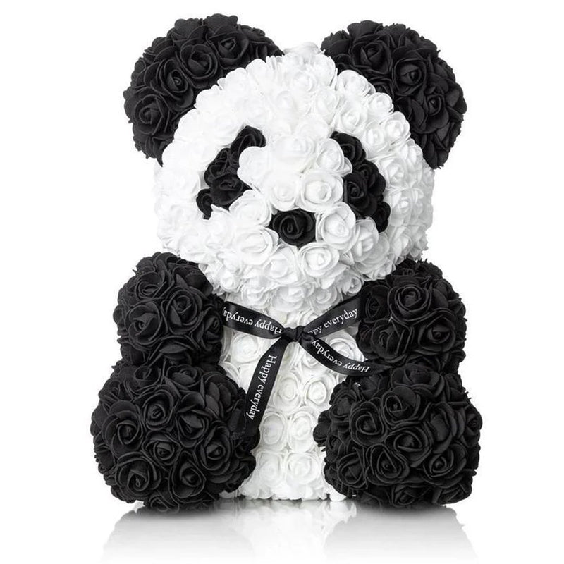 The Forever Handmade Rose Petal Puppy Furniture & Decor Black/White - DailySale