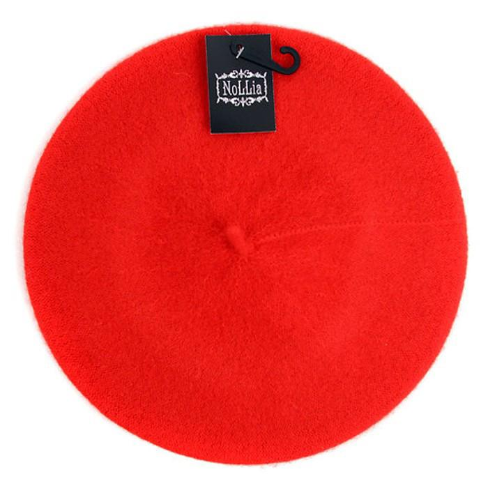Traditional Women's Men's Solid Color Plain Wool French Beret One Size Women's Apparel Red - DailySale