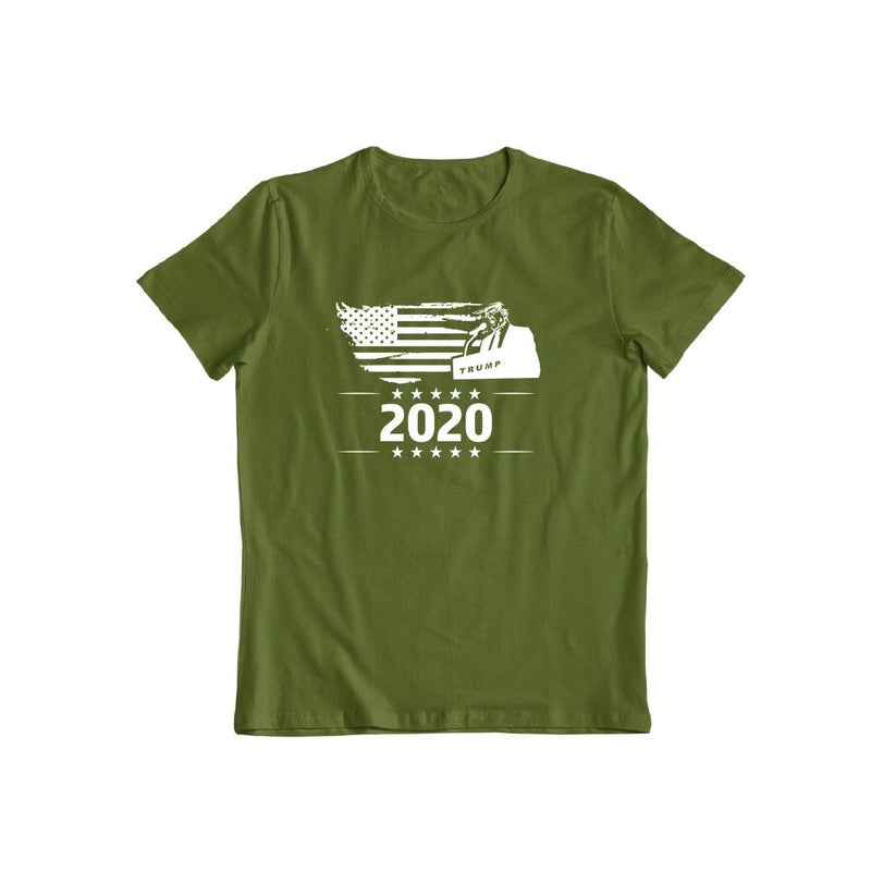 Trump 2020 T-Shirt for Men and Women Women's Apparel S Military Green - DailySale