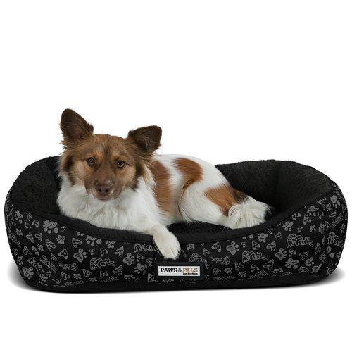 Tucker Murphy Pet Brownsdale Triangle Corner Lounger Pet Supplies Large Black - DailySale
