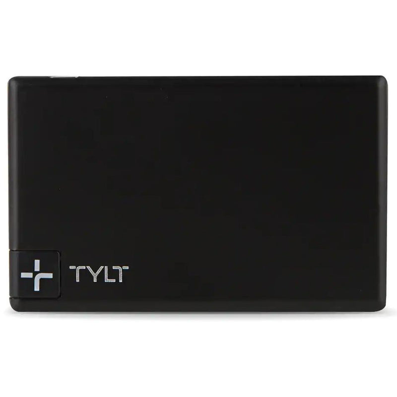 Tylt Slim Boost 1350mAh Battery Pack Phones & Accessories Black - DailySale