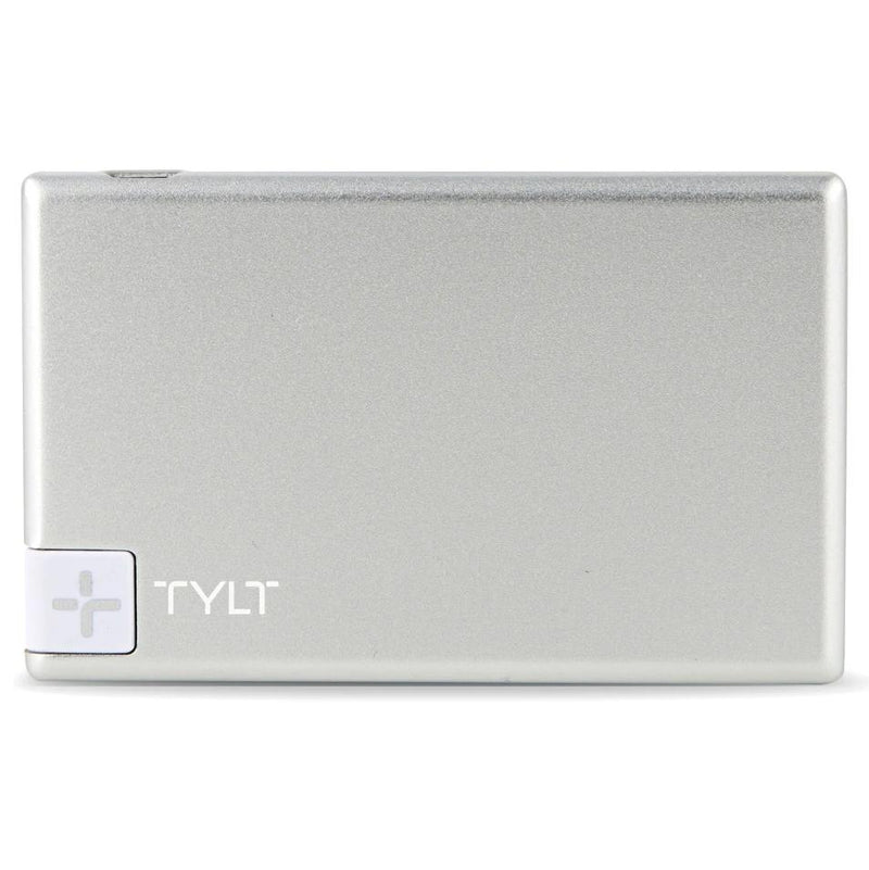 Tylt Slim Boost 1350mAh Battery Pack Phones & Accessories Silver - DailySale