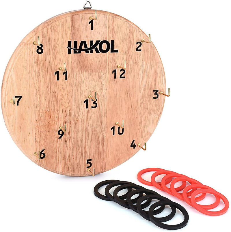 Ultimate Hook & Ring Toss Game for Kids & Adults Toys & Games - DailySale