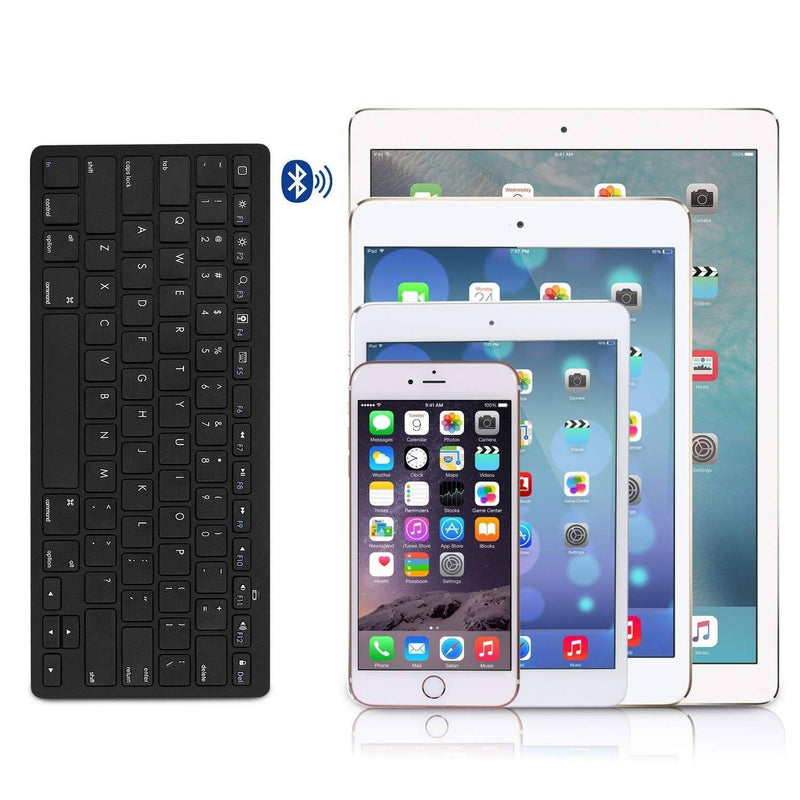 Ultra-Slim Bluetooth Keyboard - Assorted Colors Tablets & Computers - DailySale