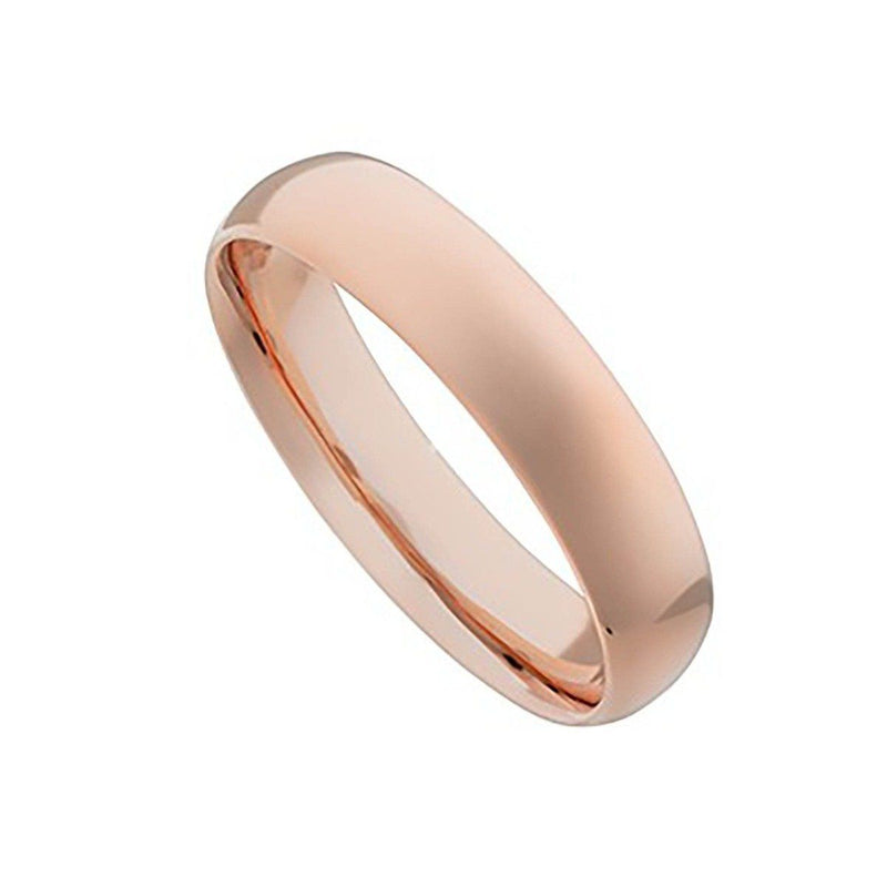 Unisex 316L Stainless Steel Ring - Assorted Colors and Sizes Men's Apparel 6 Rose Gold - DailySale