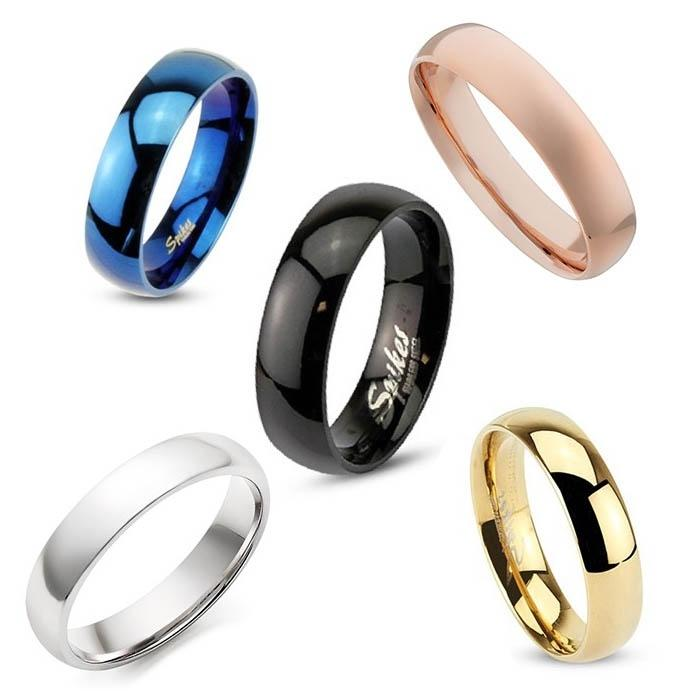 Unisex 316L Stainless Steel Ring - Assorted Colors and Sizes Men's Apparel - DailySale