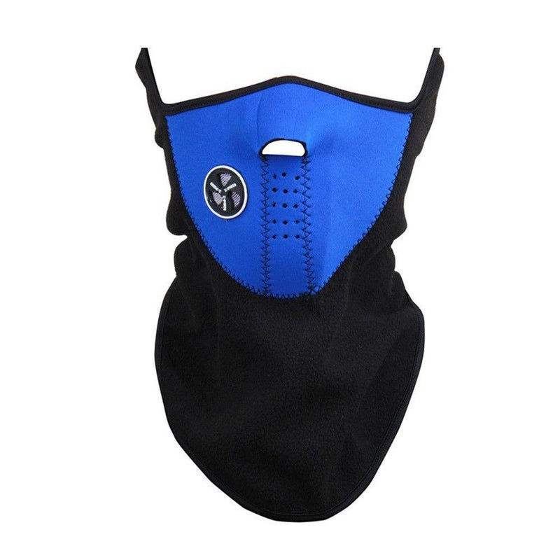 Unisex Anti Cold Fleece Ski Mask Sports & Outdoors Blue - DailySale