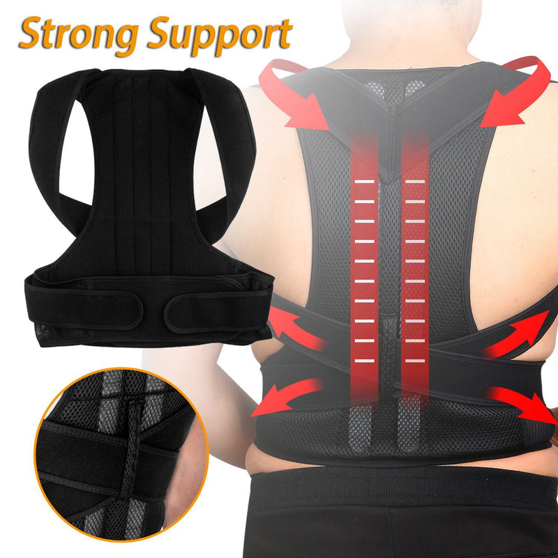 Unisex Back Posture Corrector Wellness - DailySale