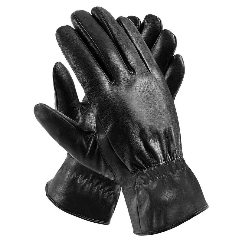 Unisex Leather Winter Warm Gloves Women's Accessories - DailySale