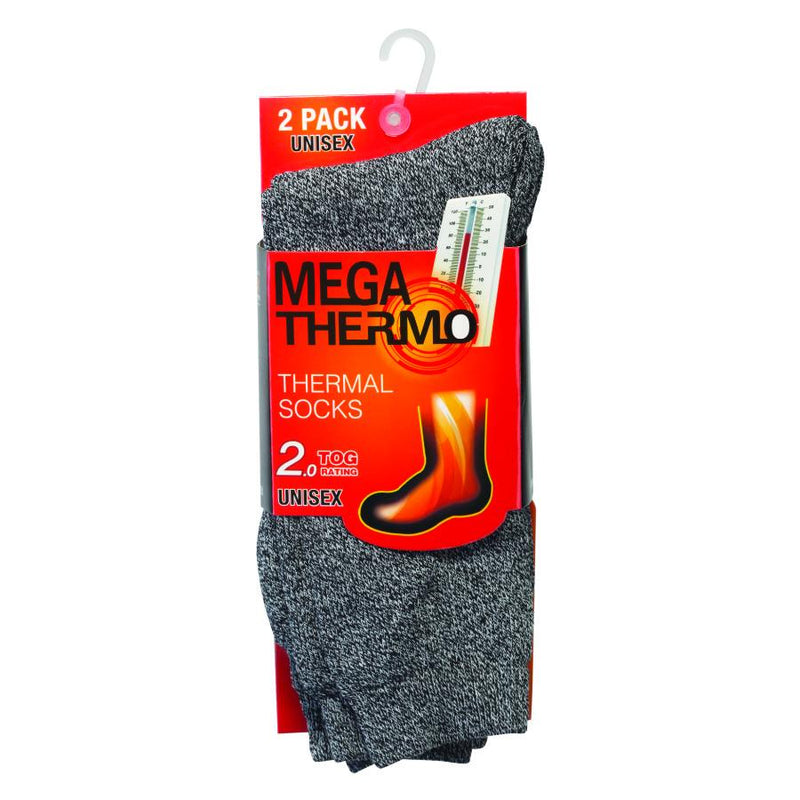 Unisex Super Warm Thermal Socks with Expert Brushed Fleece 6-Pairs - DailySale