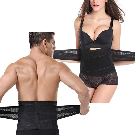 Unisex Waist Trainer Body Shaper - Assorted Sizes Wellness & Fitness - DailySale