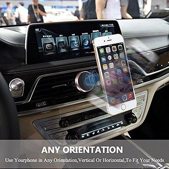 Universal Smartphone Magnetic Car Holder Phones & Accessories - DailySale
