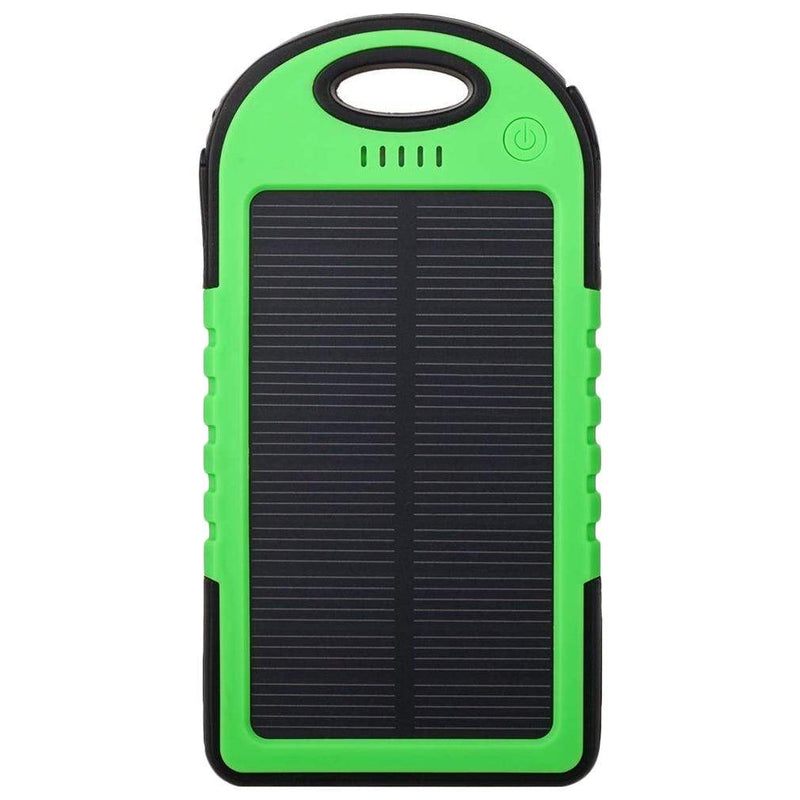 Universal Waterproof Solar Charger Phones & Accessories Green 1 Pack - DailySale