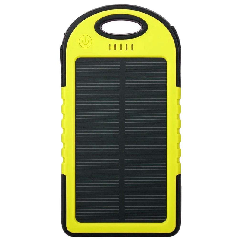 Universal Waterproof Solar Charger Phones & Accessories Yellow 1 Pack - DailySale