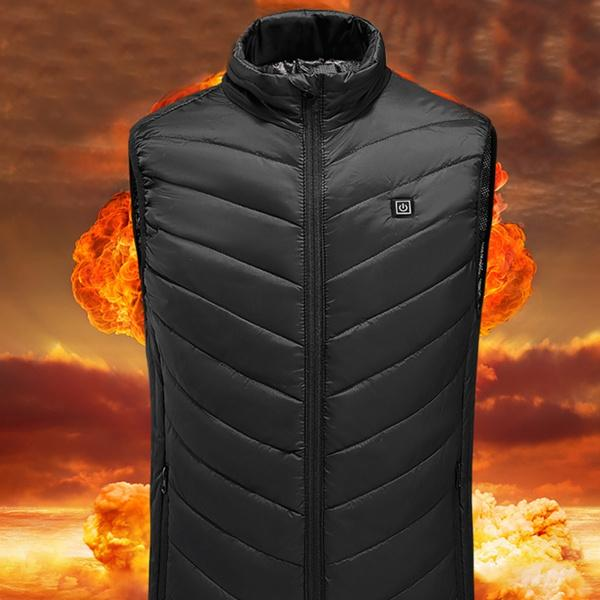 USB Mens Electric Heating Vest Men's Clothing - DailySale