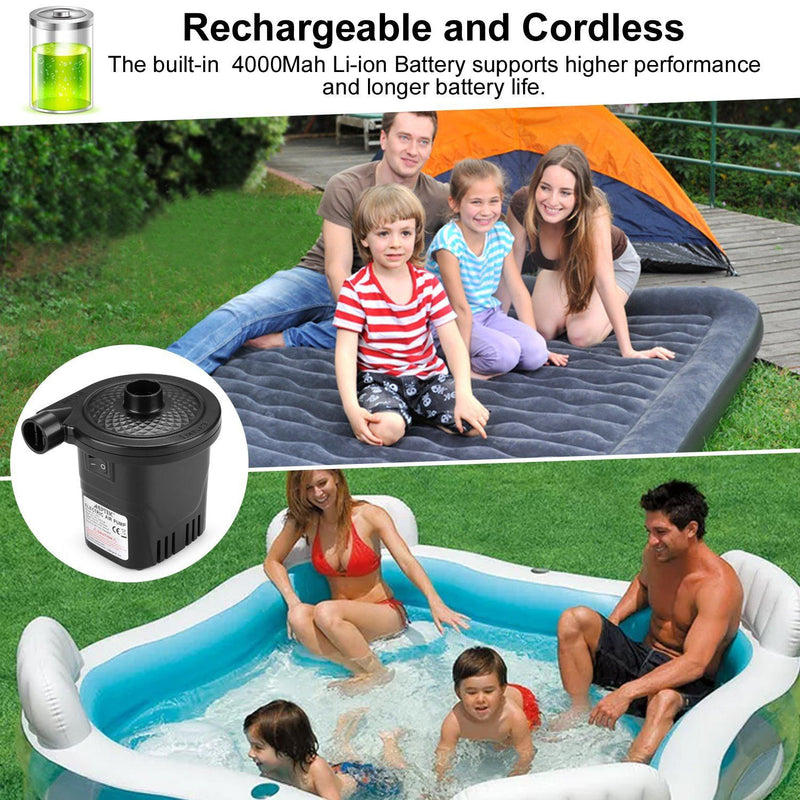 USB Rechargeable Cordless Electric Air Pump Everything Else - DailySale