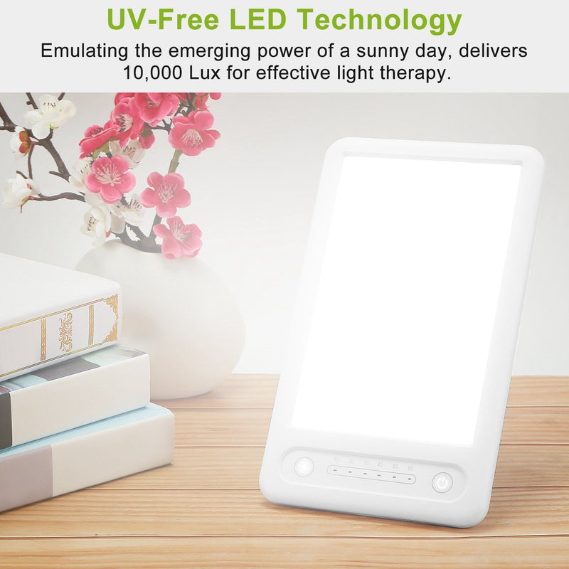 UV-Free LED Light Therapy Lamp Wellness - DailySale