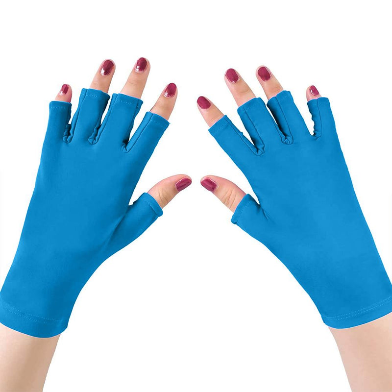 UV Light Manicure Gloves Beauty & Personal Care Blue - DailySale