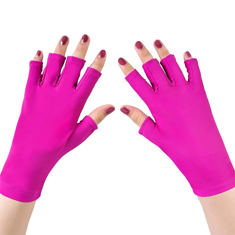 UV Light Manicure Gloves Beauty & Personal Care Pink - DailySale