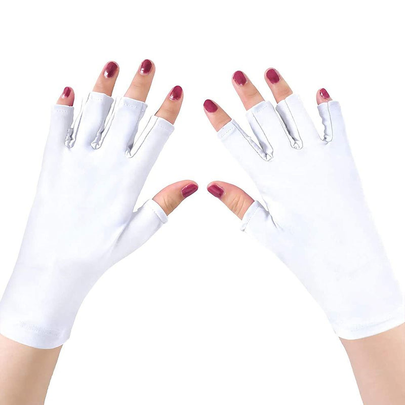 UV Light Manicure Gloves Beauty & Personal Care White - DailySale