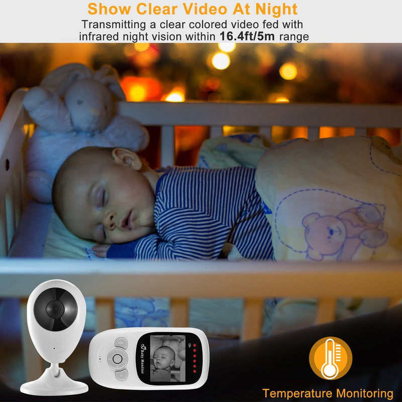 Video Baby with Digital Camera Infrared Night Viion Baby - DailySale